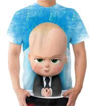 Camiseta Camisa Bebê Poderoso Chefinho Fofo Esperto - Dias no Estilo