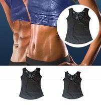 Camiseta Camisa Cinta Térmica Modeladora Abdominal Regata Queima Gorduras Sauna Feminina -