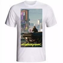 Camiseta camisa Cyberpunk 2077 jogo PS5 M4 - Your Hype!