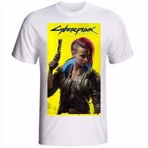Camiseta camisa Cyberpunk 2077 jogo PS5 - Your Hype!
