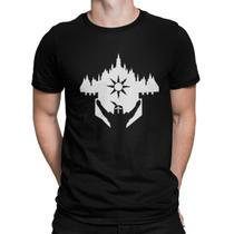 Camiseta Camisa Dark Souls Masculino Preto - Mikonos