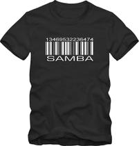 Camiseta Camisa De Sambista Código De Samba - Blackchic