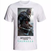 Camiseta camisa jogos PS5,PS4 Assassin's Creed Valhalla - Your Hype!