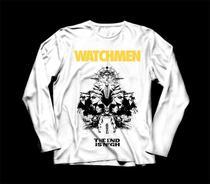 Camiseta / Camisa Manga Longa Feminina Watchmen Hq Dc - Ultraviolence Store