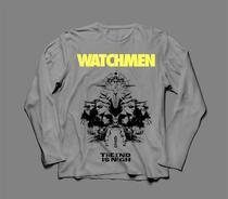 Camiseta / Camisa Manga Longa Masculina Watchmen Hq Dc - Ultraviolence Store