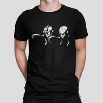 Camiseta Camisa Megaman Masculino Preto - Mikonos