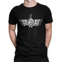 Camiseta Camisa O Aviador Masculino Preto - Mikonos
