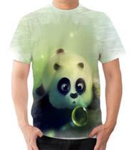 Camiseta Camisa Panda Filhote Fofo Urso Bolha Animal - Dias no Estilo