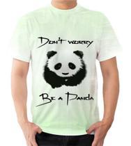 Camiseta Camisa Panda Fofo Animal Asiatico  Extinção Raro - Dias no Estilo