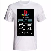 Camiseta camisa PS5 Histórica 3 - Your Hype!