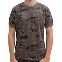 Camiseta Camuflada Digital Petróleo P - Bravo -