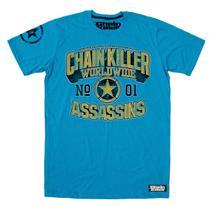 Camiseta CHAIN KILLER Assassins - MMA Rock Academia Muay Thai Jiu Jitsu Moto Retro Musculação Lutas Boxe Treino ORIGINAL -