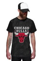 Camiseta Chicago Bulls Camuflada Exclusiva - Di Nuevo