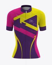 Camiseta Ciclismo Feminina Mtb Trilhas E Terra -