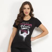 Camiseta Coca-Cola Made With Hapiness Atlanta Feminina -