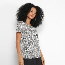 Camiseta Colcci Estampada Feminina -