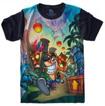Camiseta Crash Bandicoot - Camisetas 4Fun