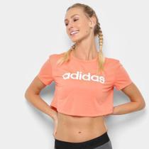 Camiseta Cropped Adidas D2M Feminina -