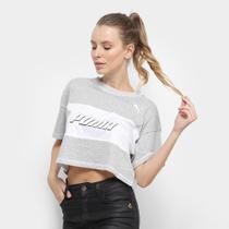 Camiseta Cropped Puma Modern Sports -