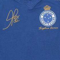 Camiseta Cruzeiro Juvenil Retrô Mania 2003 Alex Triplice Coroa - Retrômania