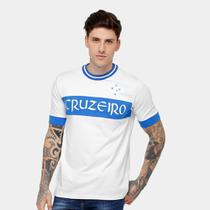 Camiseta Cruzeiro Recorte Masculina - Natural sports