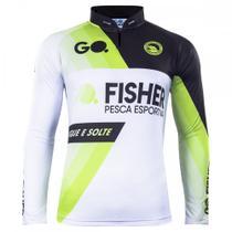 Camiseta de Pesca Go Fisher Manga Longa Sport GO17 - Masculina -