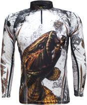 Camiseta De Pesca King Proteção Solar Uv KFF300 - Traíra - King brasil