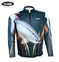 Camiseta De Pesca MTK Atack Z - Protecao Solar Uv - Piracanjuba -