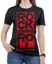 Camiseta de Rock n roll Caveira moto Feminina Roupas blusa 9 - Alemark