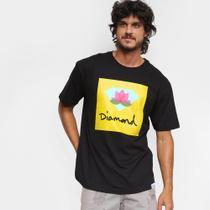 Camiseta Diamond Lotus Box Masculina -