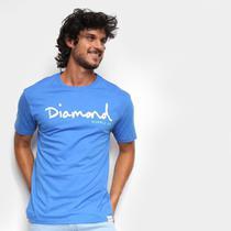 Camiseta Diamond Script Masculina -