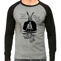 Camiseta Donnie Darko Wake Up Raglan Mescla - Eanime