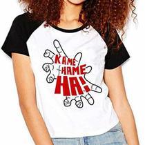 Camiseta Dragon Ball Kame Hame Ha Raglan Babylook - Eanime