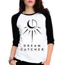 Camiseta Dreamcatcher Dream Catcher Kpop Raglan Babylook 3/4 - Eanime