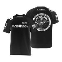 Camiseta dry fit - black skull (bope - preto m) -