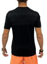 Camiseta Dry Fit Listras Back Preta - Use bora