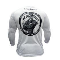 Camiseta dry fit soldado bope manga longa - BLACK SKULL