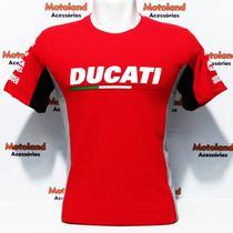 Camiseta Ducati Moto GP Vermelha 263 -