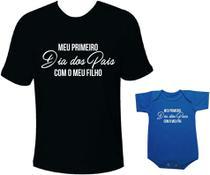 Camiseta e body Tal pai tal filho Meu primeiro dia dos pais com meu filho - Moricato
