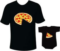 Camiseta e body Tal pai tal filho Pizza - Moricato