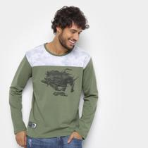 Camiseta Ecko Manga Longa Masculina -