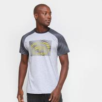 Camiseta Ecko Raglan Estampada Masculina -