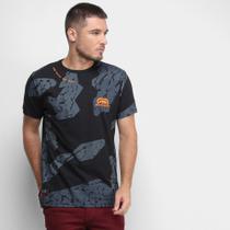 Camiseta Ecko Texturas Masculina -