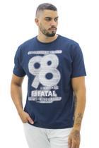 Camiseta Estampada Fatal Surf Masculina -