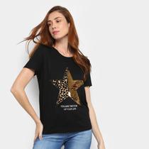 Camiseta Facinelli Star Feminina -
