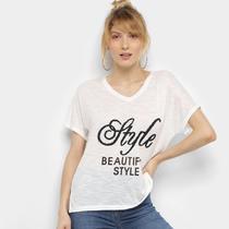 Camiseta Facinelli Style Feminina -