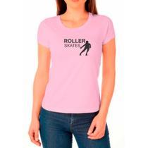 Camiseta Feminina Algodão Patins Confortável Dia a Dia - Ragor