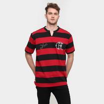 Camiseta Flamengo Retrô Zico Masculina - Braziline