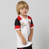 Camiseta Flamengo Zico Infantil - Braziline