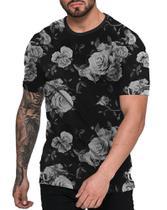Camiseta Florida Preta Off White Black Floral - Di nuevo
